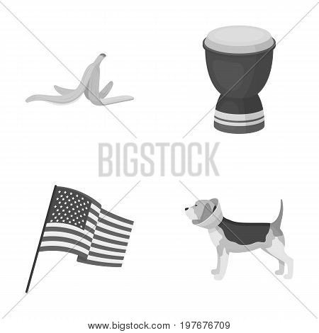 trade, ecology, animal and other  icon in monochrome style.health-giving, business, icons in set collection.