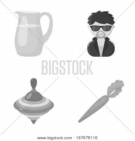 business, trade, ecology and other  icon in monochrome stylevegetable, useful, style, . icons in set collection