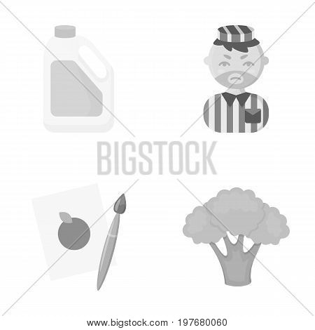 useful, business, ecology and other  icon in monochrome style.cabbage, color, vegetables, icons in set collection