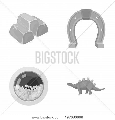 history, business, hygiene and other  icon in monochrome style.prehistoric, herbivore machinery, icons in set collection.