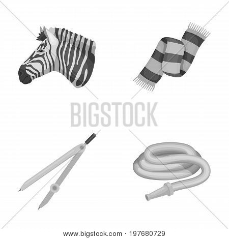 business, travel, tourism and other  icon in monochrome style.tips, watering, rubber, icons in set collection