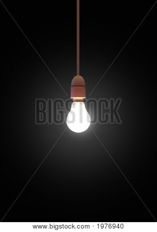 Hanging Lightbulb