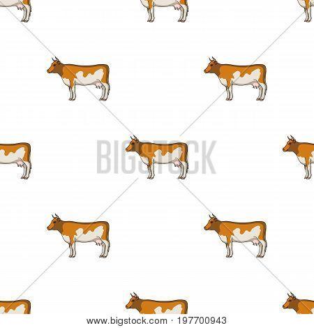 Cow.Animals single icon in cartoon style vector symbol stock illustration .