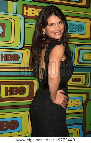 BEVERLY HILLS - JAN 16: Julia Ormond arrives at the HBO Golden Globe Party 2011 at Circa 55 at the Beverly Hilton Hotel on January 16, 2011 in Beverly Hills, CA