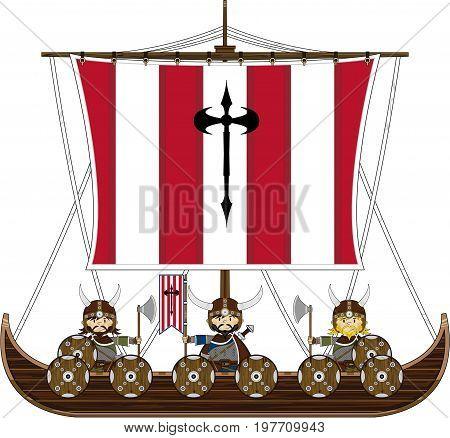 Viking On Warship.eps