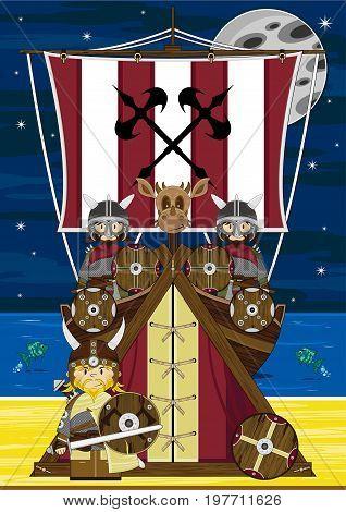 Viking Longship & Tent