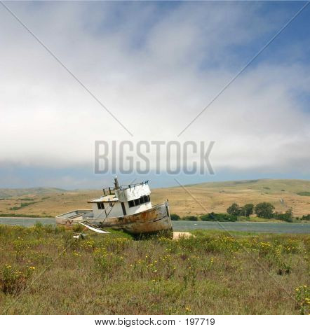 Beached Ib Tomales Bay