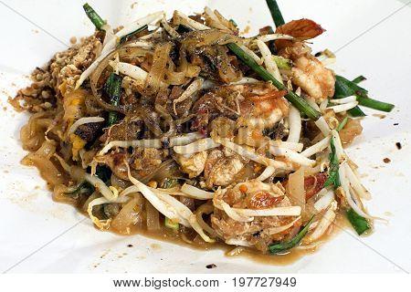 pad thai delicious stir fried noodles thai food