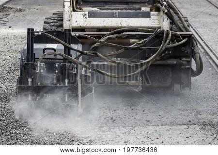 Asphalt Grinder For Pothole Repair