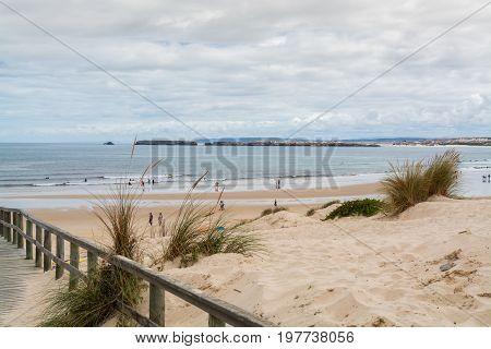 Peniche Portugal. 26 June 2017. Peniche de Cima beach in Peniche. Peniche Portugal. photography by Ricardo Rocha.