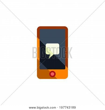 Chatting Vector Element Can Be Used For Message, Chatting, Telephone Design Concept.  Isolated Message Flat Icon.