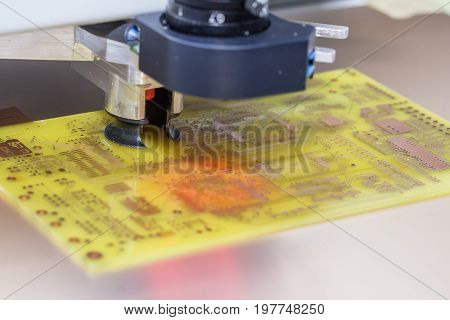 Drilling A Printed Circuit Board