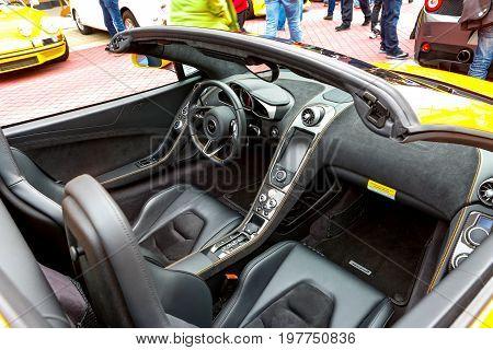 Redmond, Wa - April 29, 2017: Exotic Car Show At Redmond Town Center