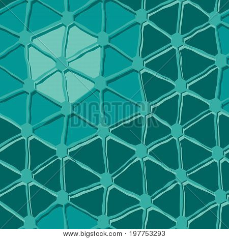 Seamless square vector texture with triangle tiles