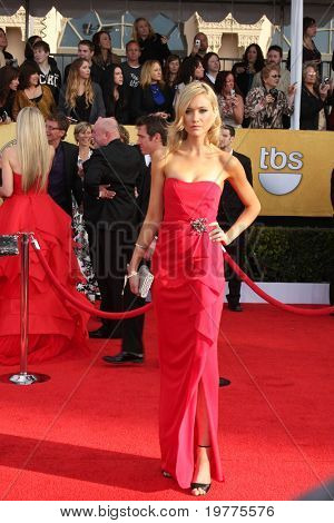 LOS ANGELES - JAN 30:  Katrina Bowden arrives at the 2011 Screen Actors Guild Awards  at Shrine Auditorium on January 30, 2011 in Los Angeles, CA