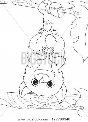 Childrens Coloring Vector & Photo (Free Trial) | Bigstock