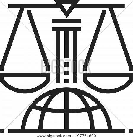 International Law Icon