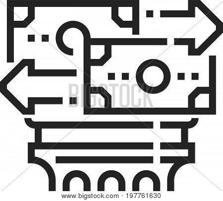 Trade Law Icon