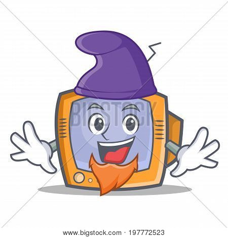Elf TV character cartoon object vector illustration