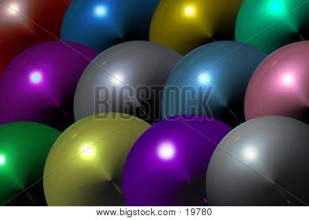 Shiny Bkg Balls