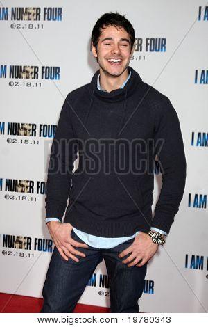 LOS ANGELES - FEB 9:  Jayson Blair arrives at the