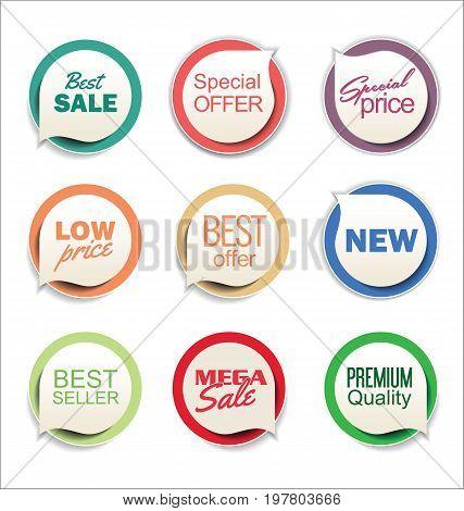 Modern Sale Sticker Collection 3.eps