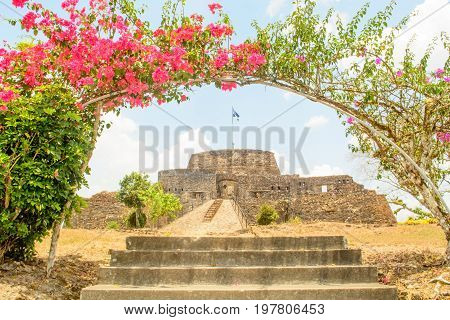 A view of El Castillo de la in on the San Juan river in Nicaragua