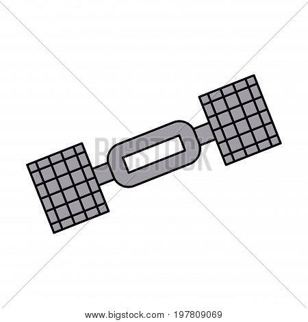 satellite telecommunications icon image vector illustration design