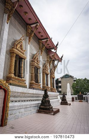 Buddhist Temple In Bangkok, Thailand