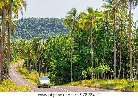Driving along the east coast to Port Olry - Espiritu Santo Vanuatu, 26 September 2012