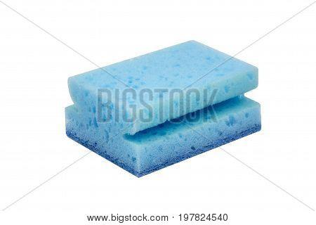 Blue Scrubbing Sponge