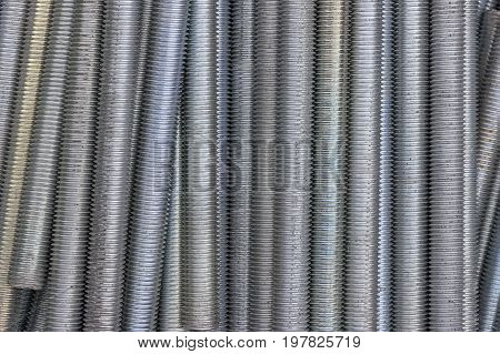 Close Up Of Long Screw Thread 3