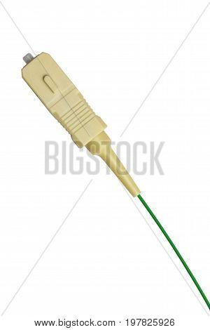 Fiber Optics Connector With Fiber Cable