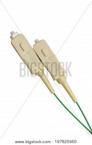 Fiber Optics Connectors With Fiber Cables