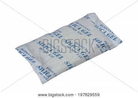 Silica Gel In A Porous Packet
