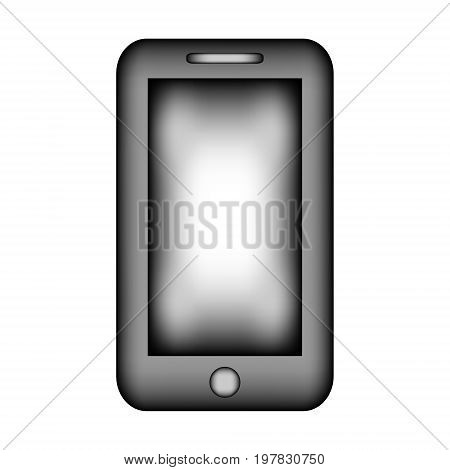 Phone sign icon on white background. Vector illustration.