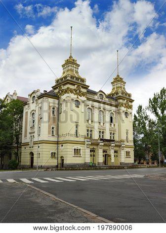 Building of theater in Jelenia Gora, Poland