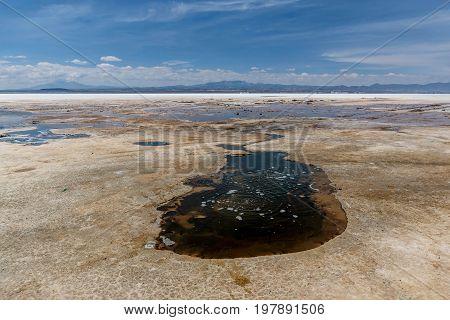 Mineral Springs in Salar de Uyuni Bolivia