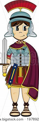 Caped Roman Soldier.eps