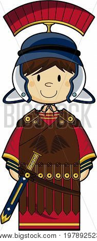Cute Roman Soldier.eps