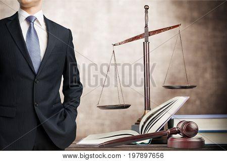 Lawyer judge gavel copy happy business financial success