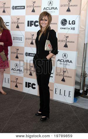 SANTA MONICA, CA - FEB 26:  Heather Kafka  arrives at the 2011 Film Independent Spirit Awards at the Beach on February 26, 2011 in Santa Monica, CA