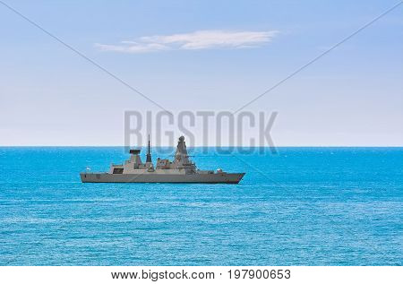 An Air-defence Destroyer in the Black Sea
