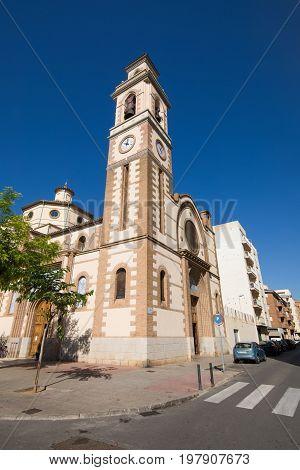 St Peter Parish In Grao Of Castellon City