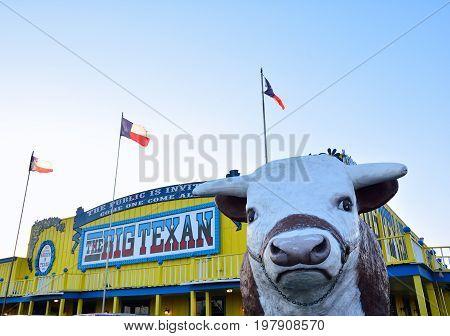 Big Texan Steak Ranch, Famous Steakhouse Restaurant