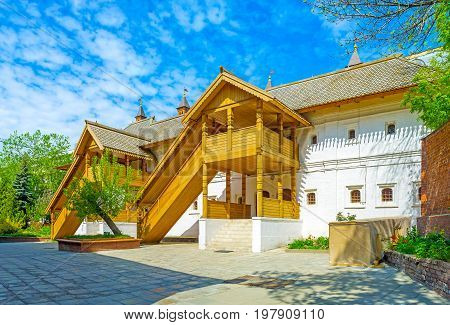 The Medieval Residence Of Russian Boyars