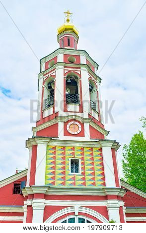 The Bell Tower Of St. John The Warrior Church