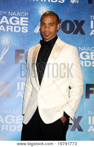 LOS ANGELES -  4: Aaron D. Spears in the Press Room of the 42nd NAACP Image Awards at Shrine Auditorium on March 4, 2011 in Los Angeles, CA
