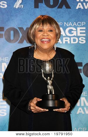 LOS ANGELES -  4: Mavis Staples in the Press Room of the 42nd NAACP Image Awards at Shrine Auditorium on March 4, 2011 in Los Angeles, CA