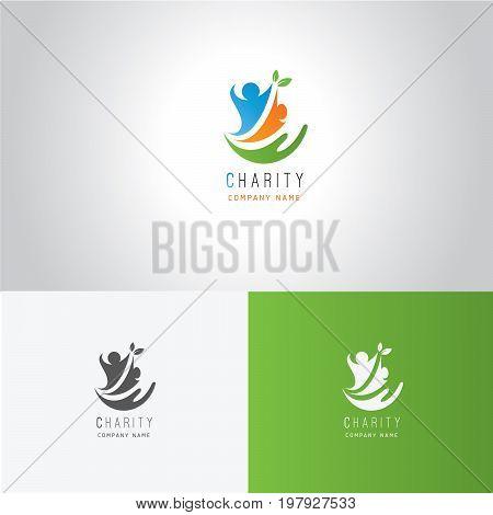 Logo of development and charitable work Logo  Charity